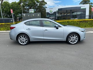 2016 Mazda 3 BM5236 SP25 SKYACTIV-MT Silver 6 Speed Manual Sedan