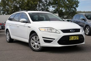 2013 Ford Mondeo MC LX PwrShift TDCi White 6 Speed Automatic Wagon.