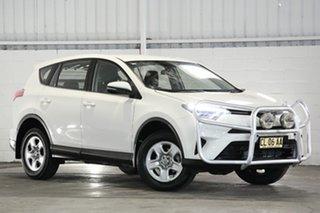 2017 Toyota RAV4 ASA44R GX AWD White 6 Speed Sports Automatic Wagon.