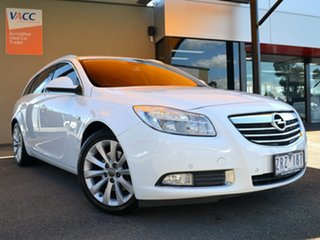 2013 Opel Insignia IN Sports Tourer White 6 Speed Sports Automatic Wagon.