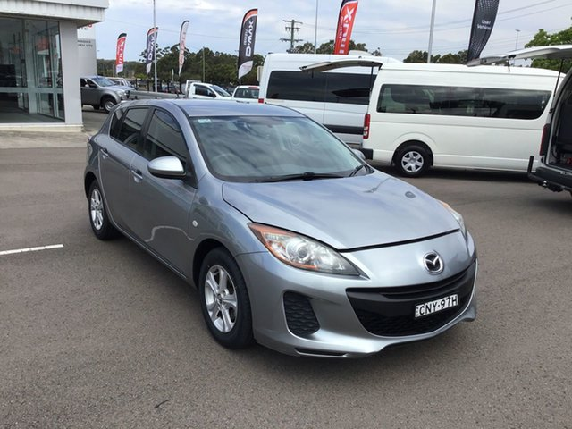 Used Mazda 3 BL10F2 MY13 Neo Activematic Cardiff, 2013 Mazda 3 BL10F2 MY13 Neo Activematic Silver 5 Speed Sports Automatic Hatchback