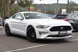 2018 Ford Mustang FN 2019MY GT White 6 Speed Manual Fastback.