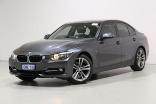 2014 BMW 320d F30 MY14 Upgrade Grey 8 Speed Automatic Sedan.