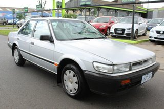 1990 Nissan Pintara TI Silver 4 Speed Automatic Sedan.