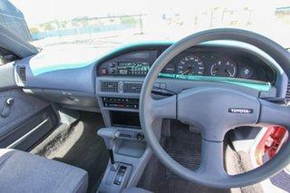 1991 Toyota Corolla AE90 CS Red 3 Speed Automatic Sedan