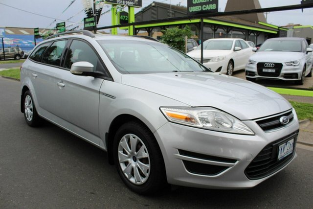 Used Ford Mondeo MC LX West Footscray, 2011 Ford Mondeo MC LX Silver 6 Speed Sports Automatic Wagon