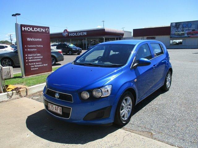 Used Holden Barina TM MY16 CD North Rockhampton, 2016 Holden Barina TM MY16 CD Blue 6 Speed Automatic Hatchback