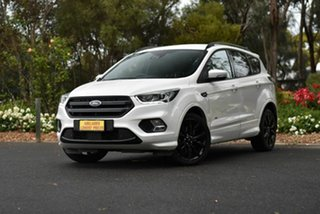 2018 Ford Escape ZG 2018.75MY ST-Line White 6 Speed Sports Automatic SUV.