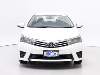 2016 Toyota Corolla ZRE172R Ascent White 7 Speed CVT Auto Sequential Sedan.