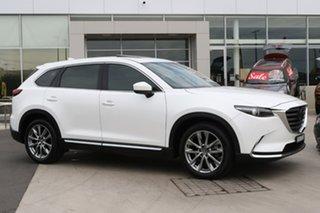 2019 Mazda CX-9 TC Azami SKYACTIV-Drive i-ACTIV AWD Snowflake White 6 Speed Sports Automatic Wagon.