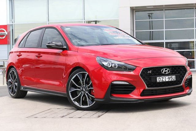 Used Hyundai i30 PDe.2 MY18 N Performance Liverpool, 2018 Hyundai i30 PDe.2 MY18 N Performance Engine Red 6 Speed Manual Hatchback