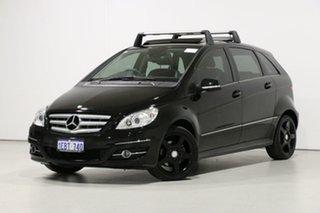 2011 Mercedes-Benz B200 245 MY11 Black Continuous Variable Hatchback.