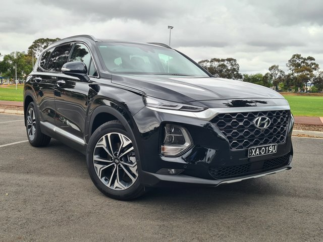 Used Hyundai Santa Fe TM.2 MY20 Highlander Nailsworth, 2019 Hyundai Santa Fe TM.2 MY20 Highlander Black 8 Speed Sports Automatic Wagon