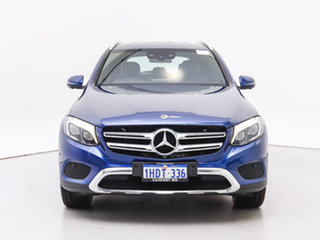 2017 Mercedes-Benz GLC220D 253 MY17 Blue 9 Speed Automatic Wagon.