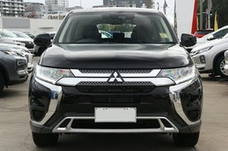 2021 Mitsubishi Outlander ZL MY21 ES 2WD Black 6 Speed Constant Variable Wagon