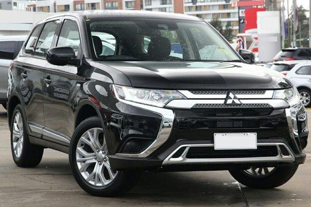 New Mitsubishi Outlander ZL MY21 ES 2WD Caloundra, 2020 Mitsubishi Outlander ZL MY21 ES 2WD Black 6 Speed Constant Variable Wagon