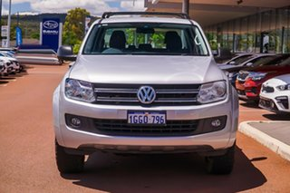 2017 Volkswagen Amarok 2H MY17 TDI420 4MOTION Perm Core Plus Silver 8 Speed Automatic Utility.