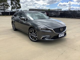 2018 Mazda 6 GL1031 Atenza SKYACTIV-Drive Machine Grey 6 Speed Sports Automatic Wagon.