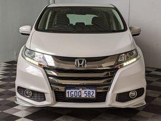 2018 Honda Odyssey RC MY18 VTi White 7 Speed Constant Variable Wagon.