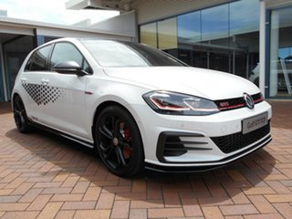 2020 Volkswagen Golf 7.5 MY20 GTI TCR DSG Pure White 6 Speed Sports Automatic Dual Clutch Hatchback.
