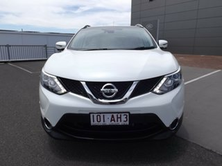2016 Nissan Qashqai J11 TL White 1 Speed Constant Variable Wagon