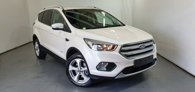 Used Ford Escape ZG Trend Elizabeth, 2017 Ford Escape ZG Trend White 6 Speed Sports Automatic Dual Clutch SUV