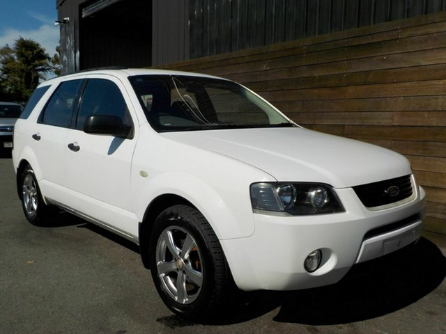 Used Ford Territory SX TX Labrador, 2005 Ford Territory SX TX White 4 Speed Sports Automatic Wagon