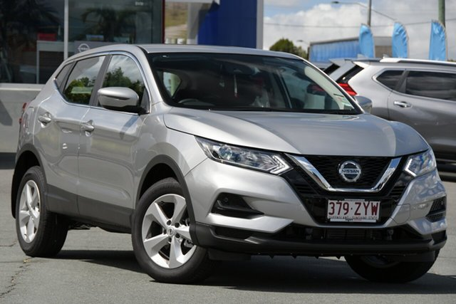 Demo Nissan Qashqai J11 Series 3 MY20 ST X-tronic Newstead, 2020 Nissan Qashqai J11 Series 3 MY20 ST X-tronic Platinum 1 Speed Constant Variable Wagon