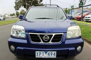 2003 Nissan X-Trail T30 Ti Luxury Blue 4 Speed Automatic Wagon.