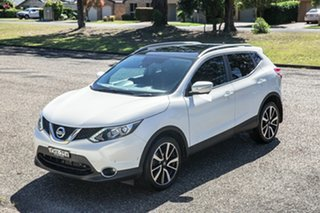 2014 Nissan Qashqai J11 TI White 1 Speed Constant Variable Wagon.