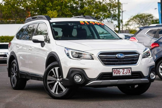 Used Subaru Outback B6A MY20 3.6R CVT AWD Mount Gravatt, 2019 Subaru Outback B6A MY20 3.6R CVT AWD Crystal White Pearl 6 Speed Constant Variable Wagon