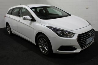 2018 Hyundai i40 VF4 Series II Active Tourer D-CT Pure White 7 Speed Sports Automatic Dual Clutch.