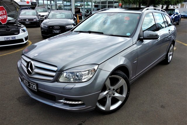 Used Mercedes-Benz C-Class W204 MY10 C250 CGI Avantgarde Seaford, 2011 Mercedes-Benz C-Class W204 MY10 C250 CGI Avantgarde Grey 5 Speed Sports Automatic Wagon
