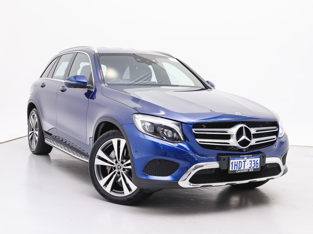 Used Mercedes-Benz GLC220D 253 MY17 , 2017 Mercedes-Benz GLC220D 253 MY17 Blue 9 Speed Automatic Wagon