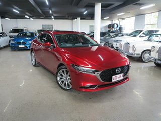 2019 Mazda 3 BP2SLA G25 SKYACTIV-Drive Astina Soul Red 6 Speed Sports Automatic Sedan.