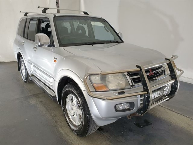 Used Mitsubishi Pajero NM GLS Maryville, 2001 Mitsubishi Pajero NM GLS Silver 5 Speed Sports Automatic Wagon