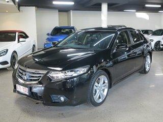 2013 Honda Accord Euro CU MY14 Luxury Navi Black 5 Speed Automatic Sedan.