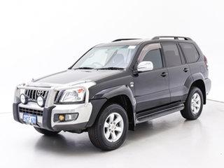 2007 Toyota Landcruiser Prado KDJ120R MY07 GXL (4x4) Black 6 Speed Manual Wagon.