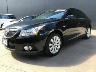 2014 Holden Cruze JH MY14 CDX Black 6 Speed Automatic Sedan.