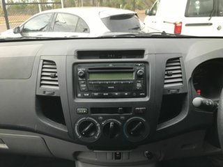 2009 Toyota Hilux KUN26R MY09 SR Grey 5 Speed Manual Cab Chassis