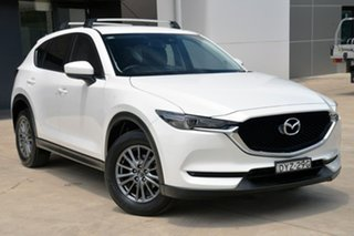 2018 Mazda CX-5 KF2W7A Maxx SKYACTIV-Drive FWD Sport White 6 Speed Sports Automatic Wagon.