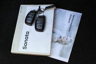 2018 Hyundai Sonata LF4 MY19 Active White 8 Speed Sports Automatic Sedan