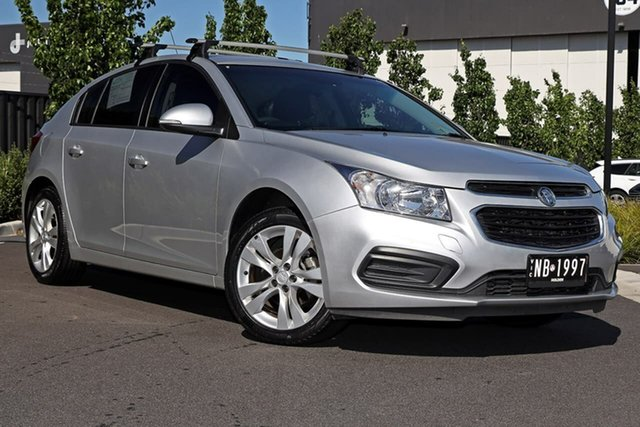 Used Holden Cruze JH Series II MY14 Equipe Essendon Fields, 2014 Holden Cruze JH Series II MY14 Equipe Silver 6 Speed Sports Automatic Hatchback