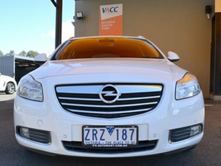 2013 Opel Insignia IN Sports Tourer White 6 Speed Sports Automatic Wagon