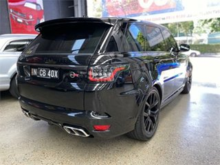 2020 Land Rover Range Rover Sport L494 V8SC SVR Carbon Edition Santorini Black Sports Automatic