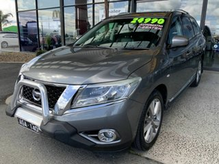 2016 Nissan Pathfinder R52 MY15 TI (4x4) Grey Continuous Variable Wagon