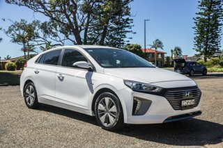2018 Hyundai Ioniq AE.2 MY19 plug-in DCT Elite White 6 Speed Sports Automatic Dual Clutch Fastback.
