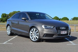 2016 Audi A3 8V MY16 Attraction S Tronic Grey 7 Speed Sports Automatic Dual Clutch Sedan.