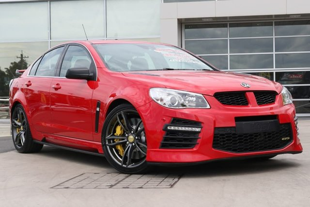 Used Holden Special Vehicles GTS Gen-F2 MY16 Liverpool, 2016 Holden Special Vehicles GTS Gen-F2 MY16 Sting Red 6 Speed Sports Automatic Sedan