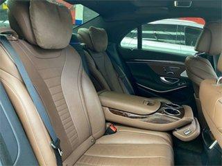 2013 Mercedes-Benz S-Class W222 S500 Blue Sports Automatic Sedan